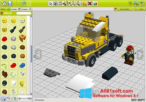 Screenshot LEGO Digital Designer for Windows 8.1