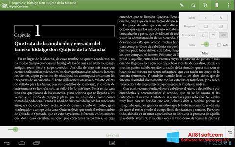 Screenshot BookReader for Windows 8.1