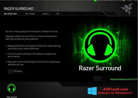 Screenshot Razer Surround for Windows 8.1