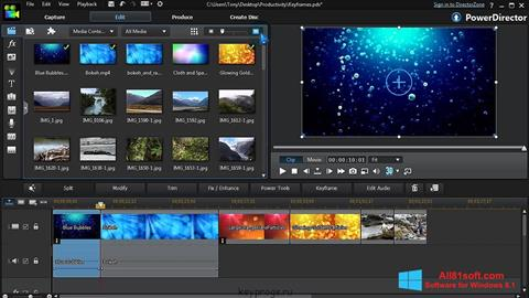 Screenshot CyberLink PowerDirector for Windows 8.1