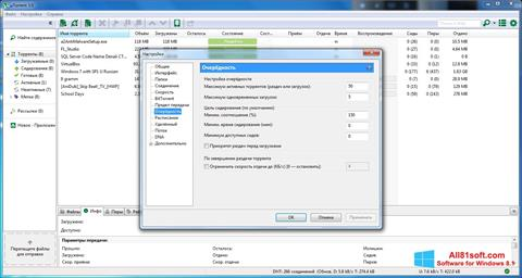 Screenshot uTorrent for Windows 8.1