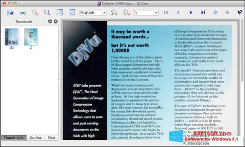 Screenshot DjView for Windows 8.1
