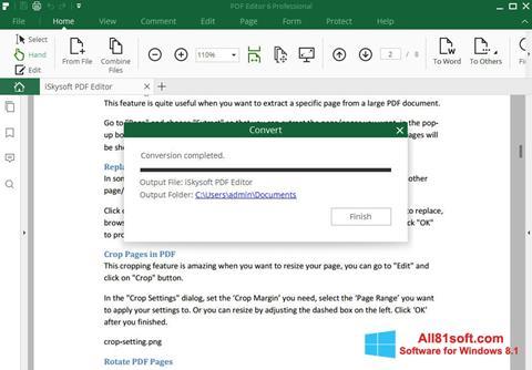 Screenshot PDF Editor for Windows 8.1