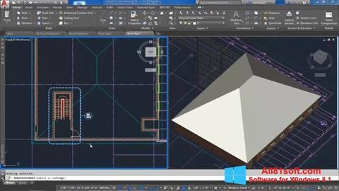 Screenshot AutoCAD Architecture for Windows 8.1