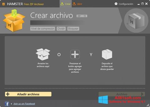 Screenshot Hamster Free ZIP Archiver for Windows 8.1