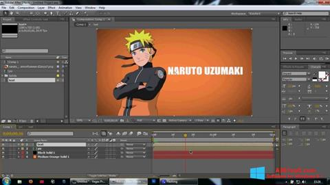 Screenshot Adobe After Effects for Windows 8.1