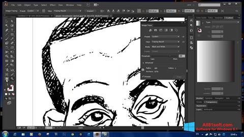 Screenshot Adobe Illustrator CC for Windows 8.1