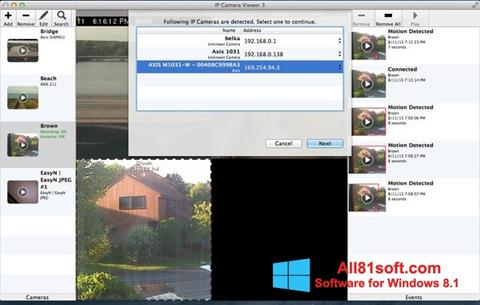 Screenshot IP Camera Viewer for Windows 8.1