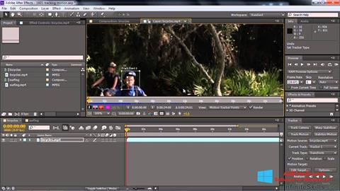 Screenshot Adobe After Effects CC for Windows 8.1