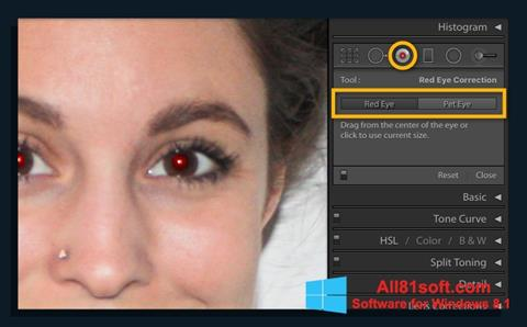 Screenshot Red Eye Remover for Windows 8.1