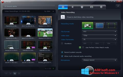Screenshot Action! for Windows 8.1