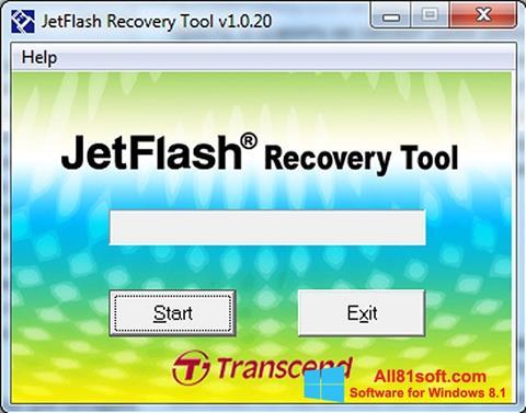 Screenshot JetFlash Recovery Tool for Windows 8.1