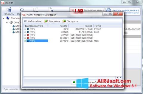 Screenshot R.saver for Windows 8.1