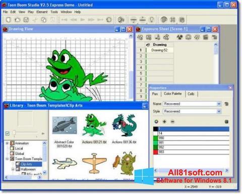 Screenshot Toon Boom Studio for Windows 8.1