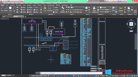 Screenshot AutoCAD Electrical for Windows 8.1