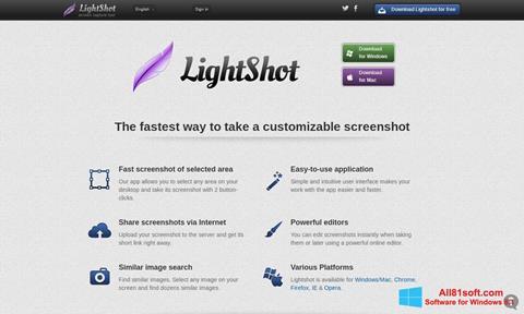 Screenshot LightShot for Windows 8.1