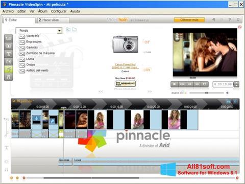 Screenshot Pinnacle VideoSpin for Windows 8.1