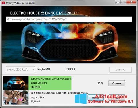 Screenshot Ummy Video Downloader for Windows 8.1