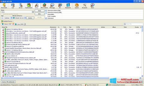 Screenshot eMule for Windows 8.1