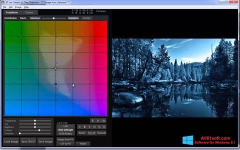 Screenshot 3D LUT Creator for Windows 8.1