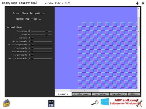 Screenshot CrazyBump for Windows 8.1