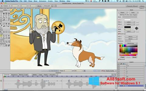 Screenshot Anime Studio for Windows 8.1