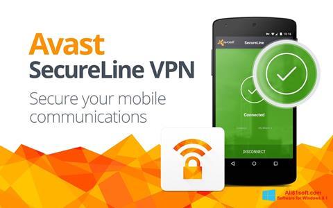 Screenshot Avast SecureLine VPN for Windows 8.1