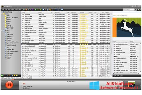 Screenshot MediaMonkey for Windows 8.1