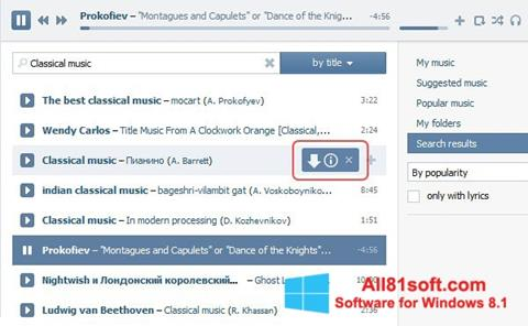 Screenshot SaveFrom.net for Windows 8.1